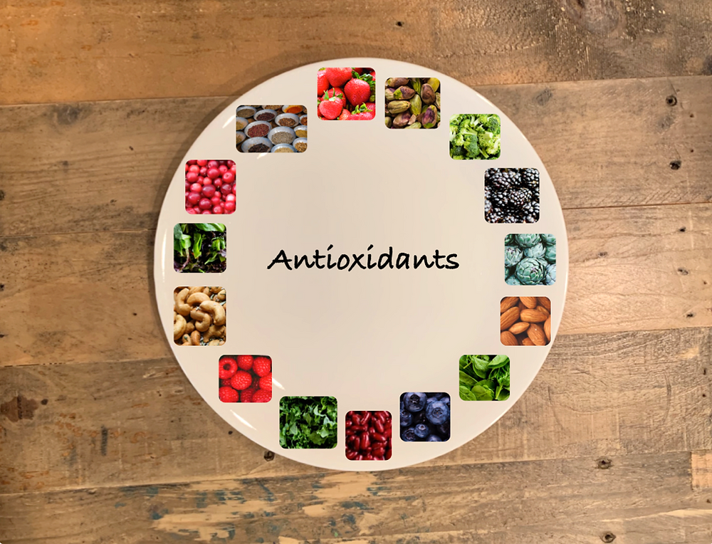Photos of foods that are high in antioxidants