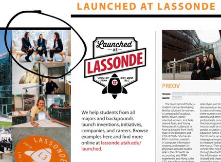 Layla (previously PreOv) mentioned in Lassonde's Annual Report