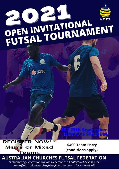 2021 Open Invitational Futsal Tournament