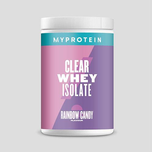 Clear Whey Isolate - Rainbow Candy