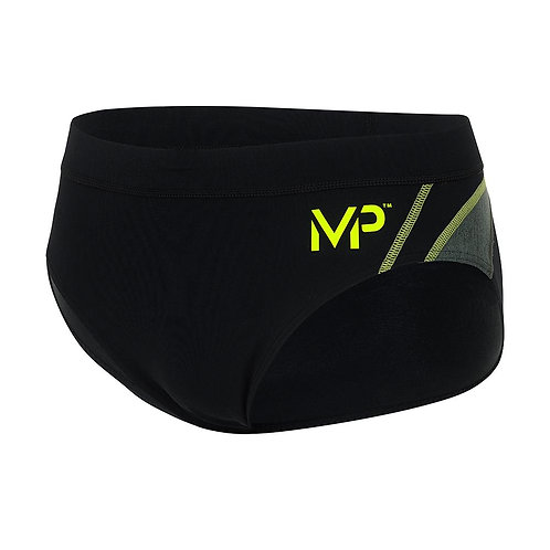 Michael Phelps Manu Brief - Black/Bright Green