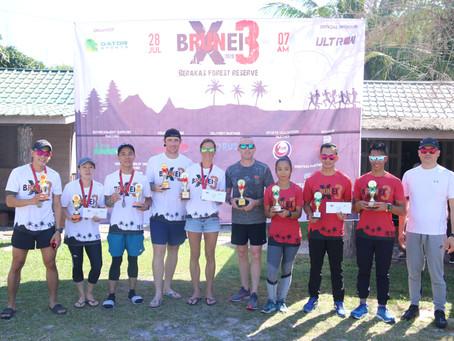 Faster Than Snails Win Brunei Run X3