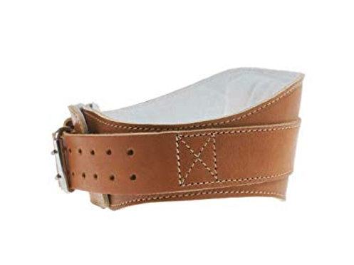 "Schiek L2006 6"" Leather Padded Lifting Belt (Brown)"