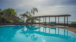 beach side swimming pool