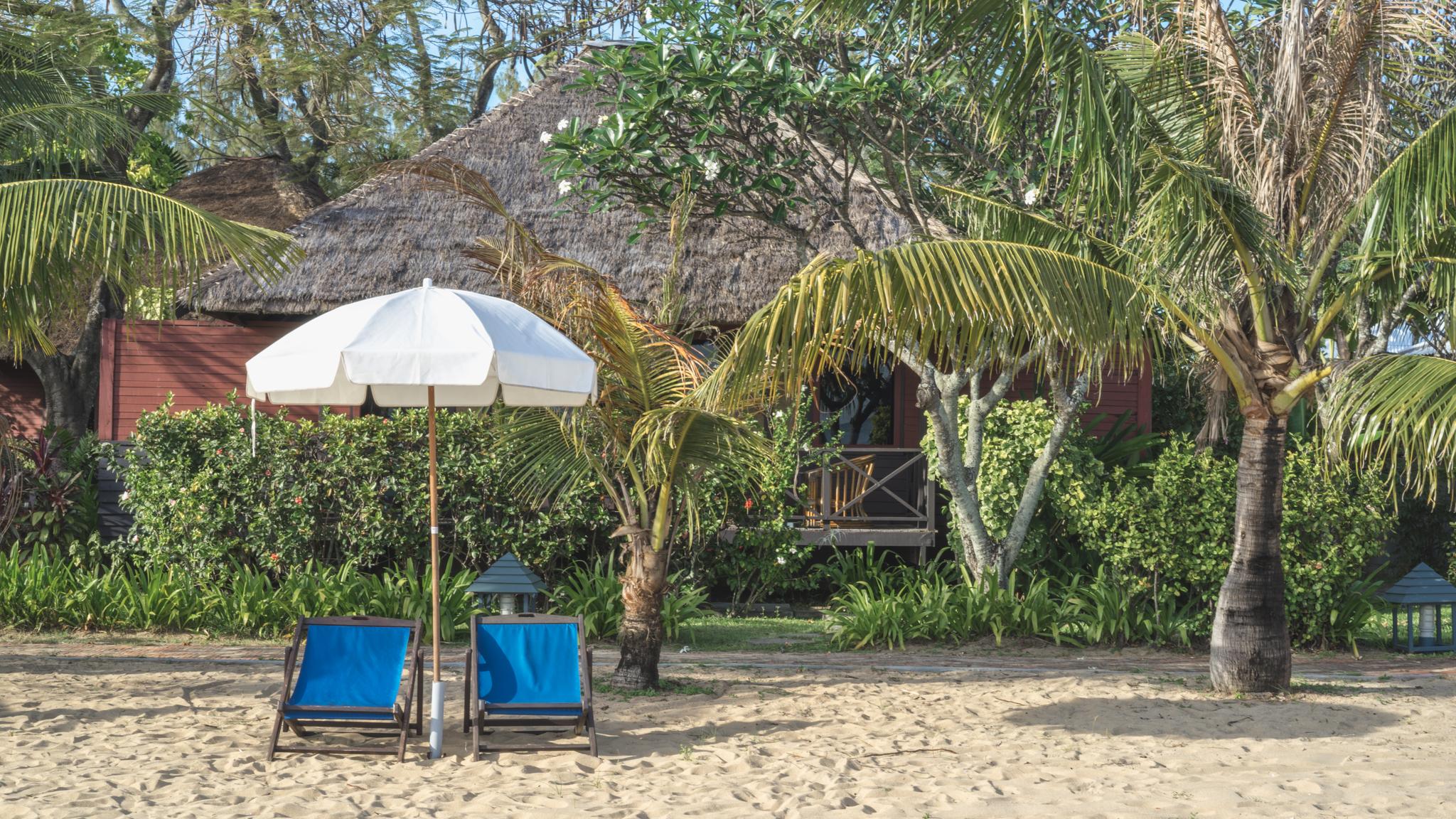 Beach umbrealla Bann Pae Cabana