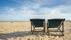 Beach chairs Bann Pae Cabana