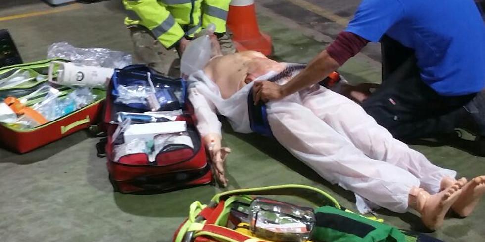 Chest Injury & Traumatic Cardiac Arrest: CPD Scenario Training
