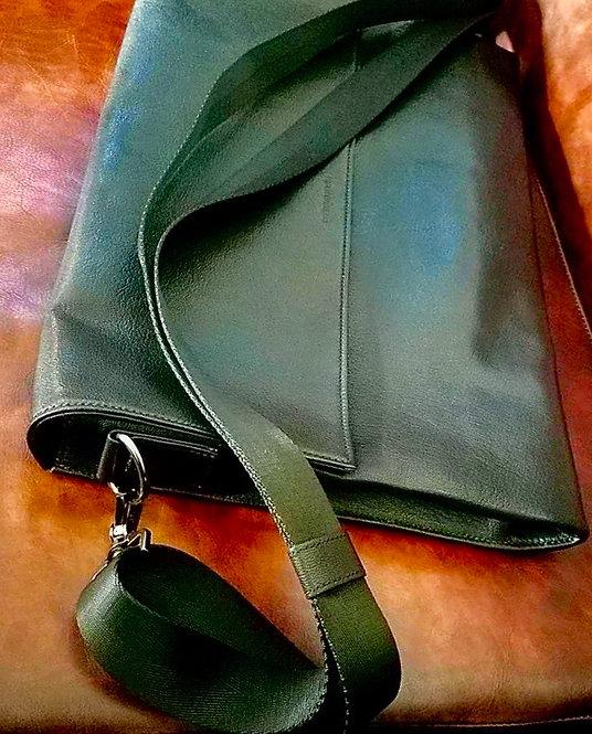Laptop Bag (100% Genuine Leather, handmade & hand stitched.)