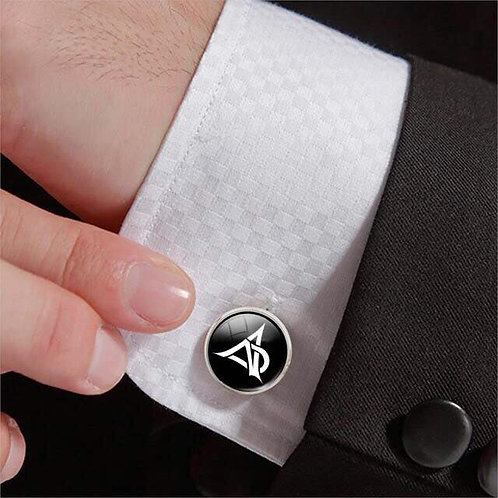 DNA Sterling Silver Cuff Links