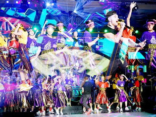 "DNA's ""Mc Dan"" performing for Beijing designer Chi Zhang's MLYC Fashion show Octob"