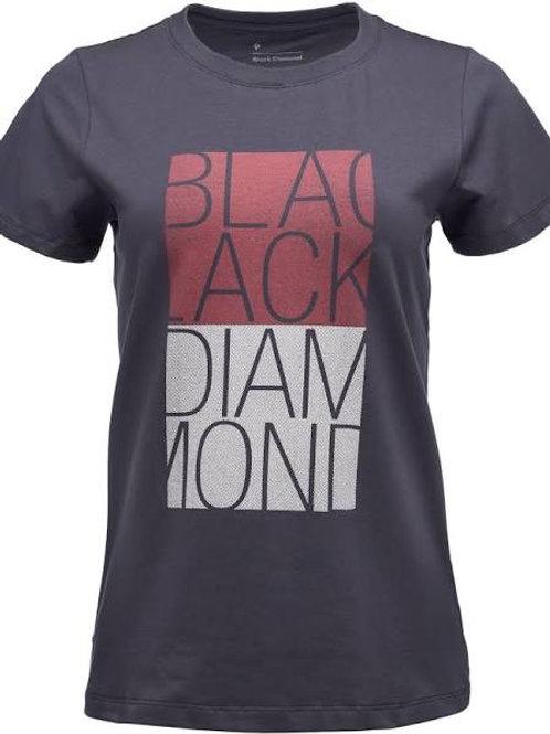 Black Diamond Women's Block Tee