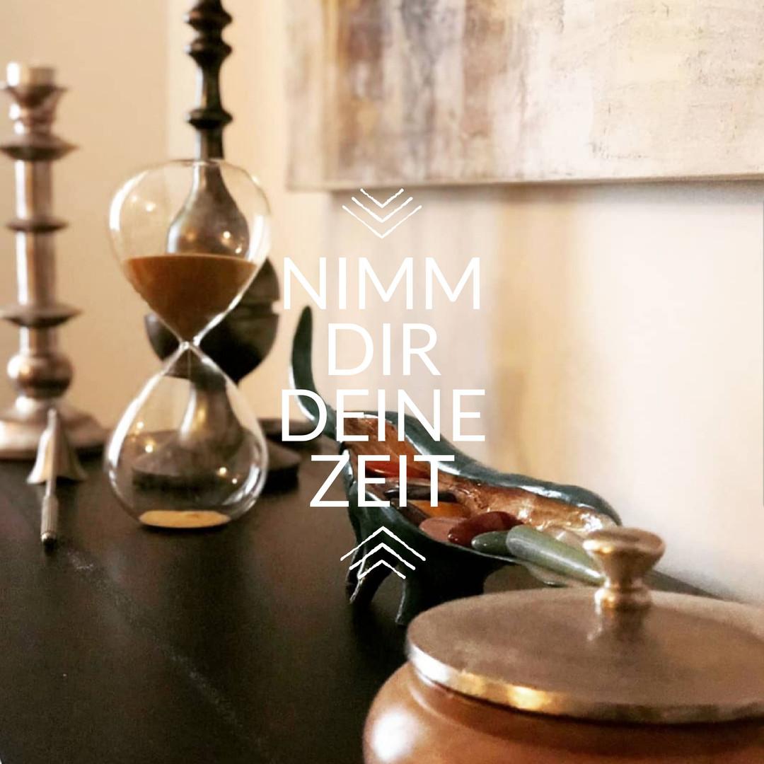 Nimm dir deine Zeit