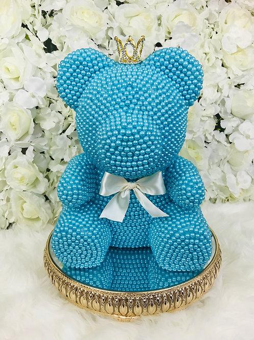 Belle Blue Pearl Bear
