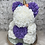 "Thumbnail: 15"" Belle Purple Rose Unicorn"