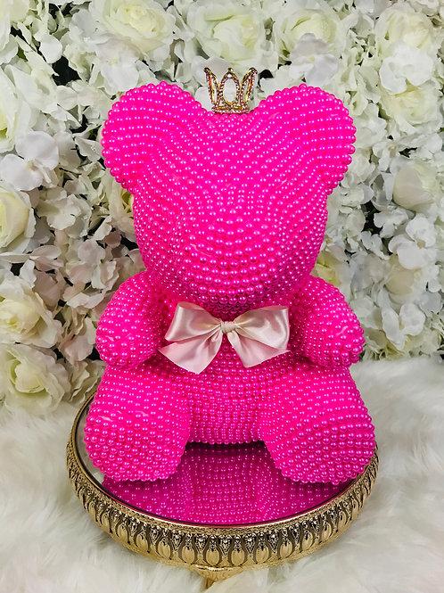 Belle Pink Pearl Bear