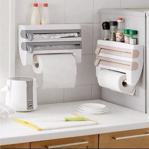 Refrigerator/Shelf Cling Film Rack