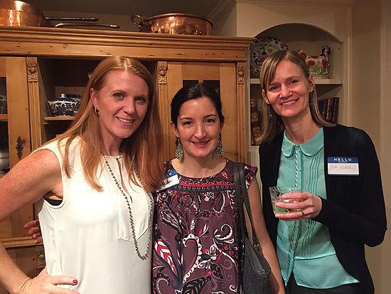 RWC members at Jenny Hill's home.