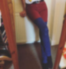 Re-found this pair of trousers I made so