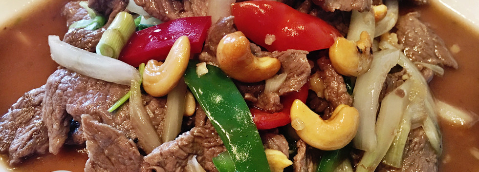 Pad Cashew Nut with Beef