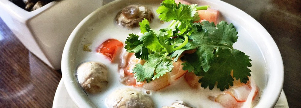Tom Kha with Shrimp