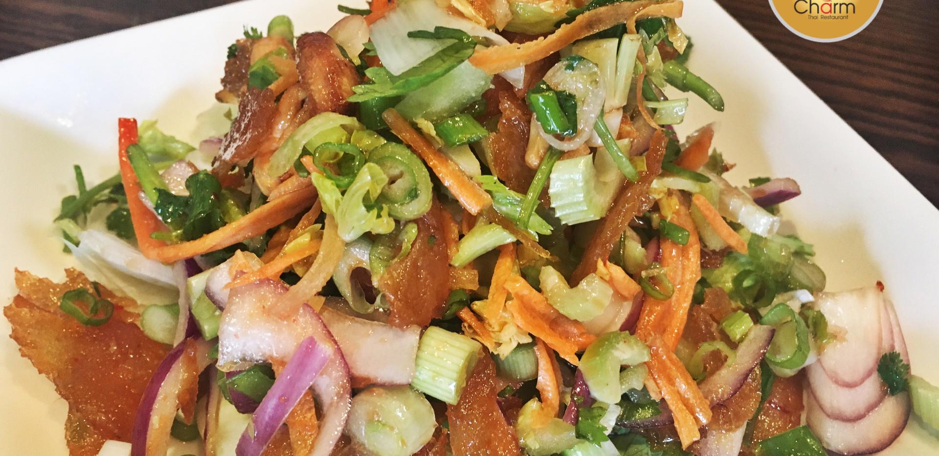 Crispy Fish Salad