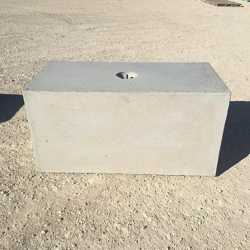 4' Flat Top Block