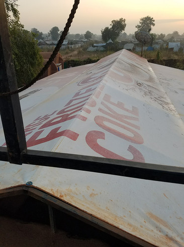 Example of Vinyl Being Used on Roof in Sudan - Brian Casady