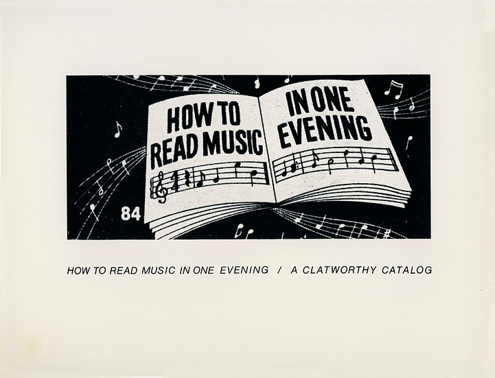 How to Read Music In One Evening, 1974