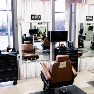 Mansfield barber chair