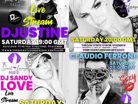 Saturday 10 April - Live Stream Line Up
