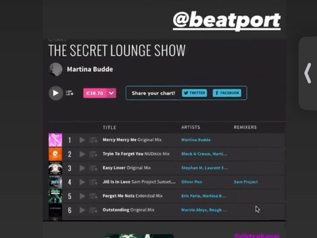 The Secret Lounge Show by Martina Budde