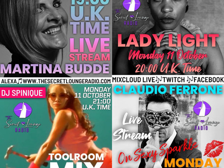Our Fabulous Monday line up