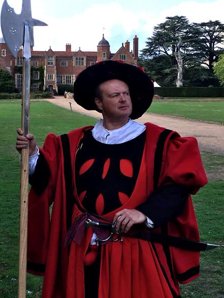 Re-enactor's Henrician Costume