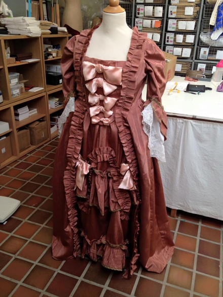 Try-on Costume for Kensington Palace