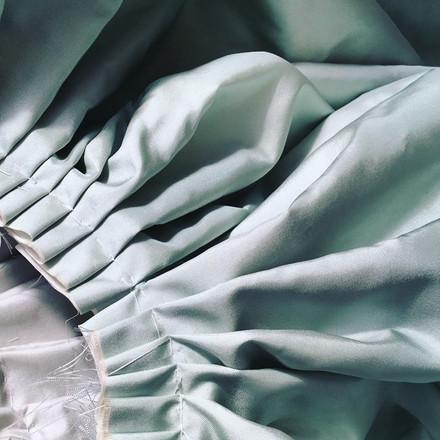 18th Century Pleated Petticoat