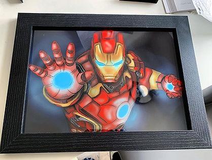 Iron Man illustration custom drawing