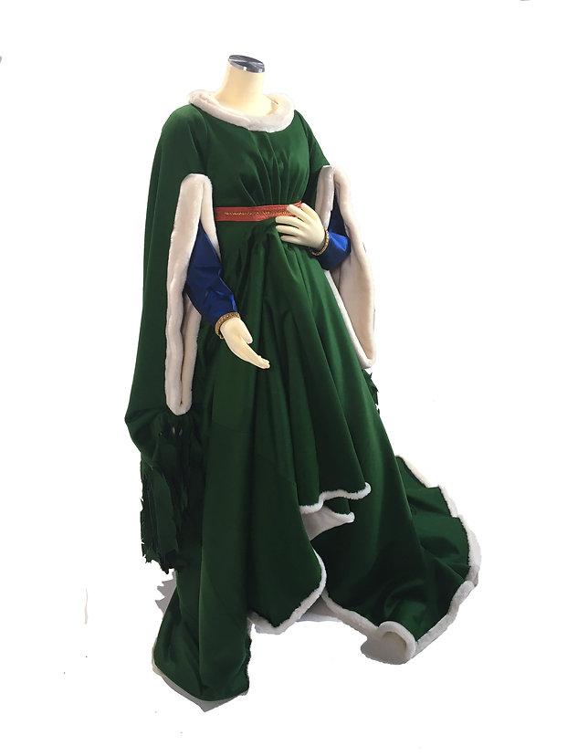 Arnolfini a stitch in time costume gown