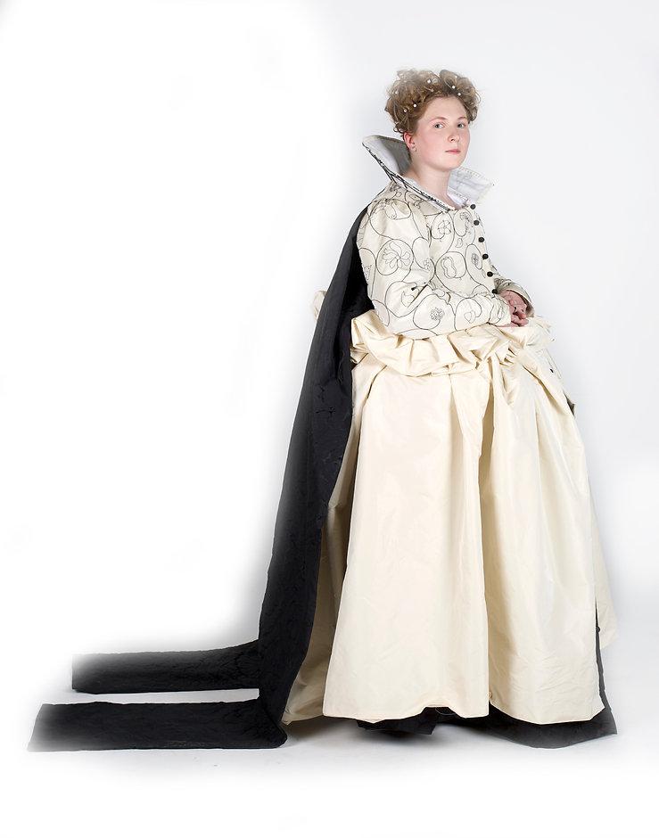 1600-20 womens costume