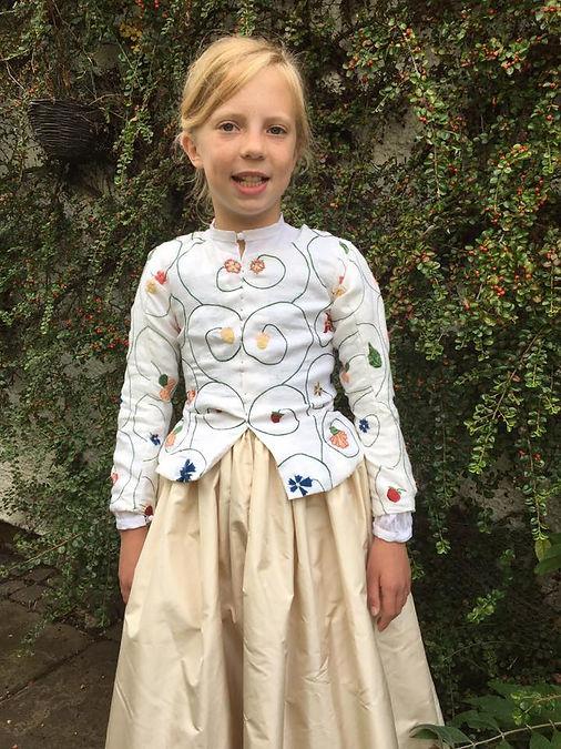 Children's Tudor Hand Embroidered Jacket
