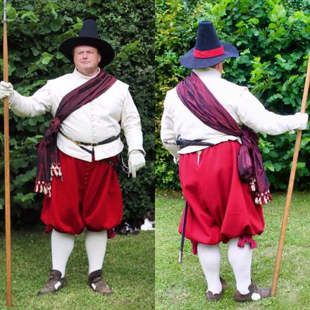 Re-enactor Costume 1600