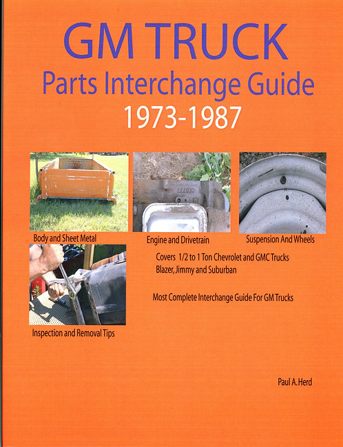 GM Truck Part Interchange 1973-1987