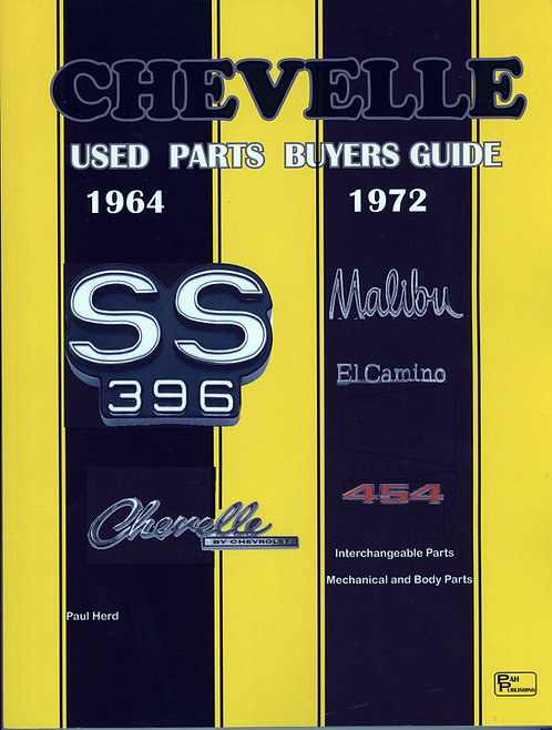 Chevelle Used Parts Buyers Guide