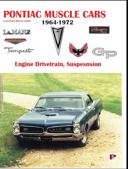 Pontiac Muscle Cars 1964-1972 Interchangeable Parts