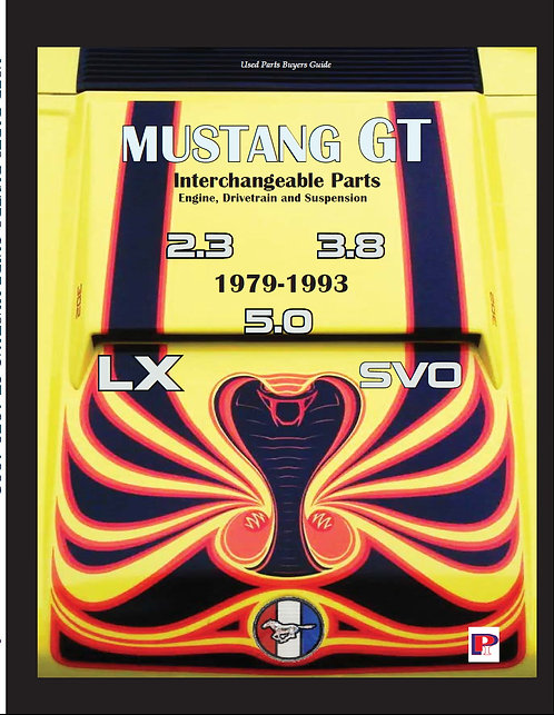 Mustang Parts Interchange Fox Body 1979-1993