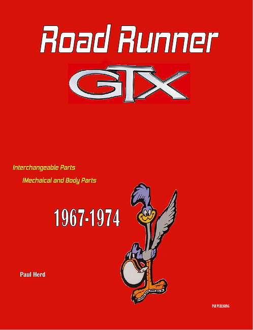 Road Runner GTX Used parts Buyers Guide 67-74