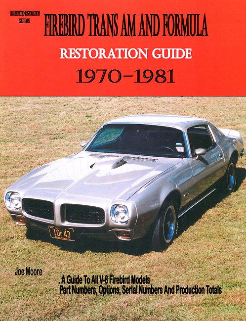 Trans AM Restoration Guide 1970-1981