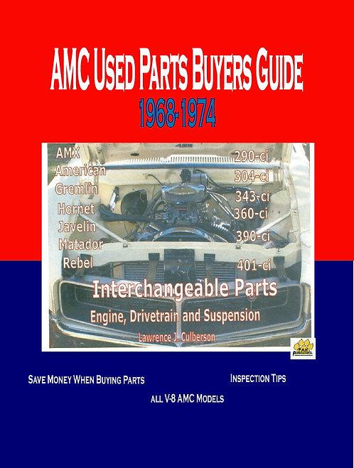 AMC Muscle car interchange parts