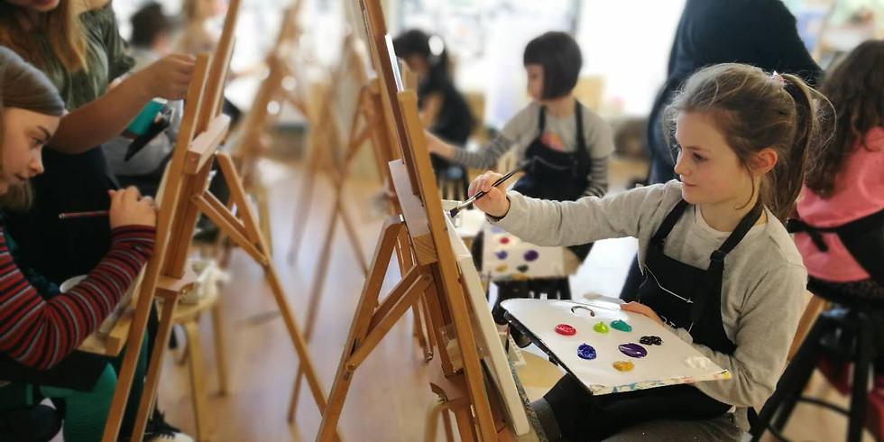 Easter Holiday Art Workshop For Children 23/04