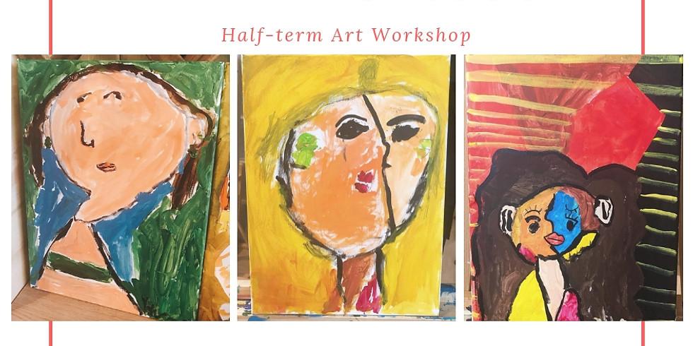 Half-Term Art Workshop -  Mini Picassos