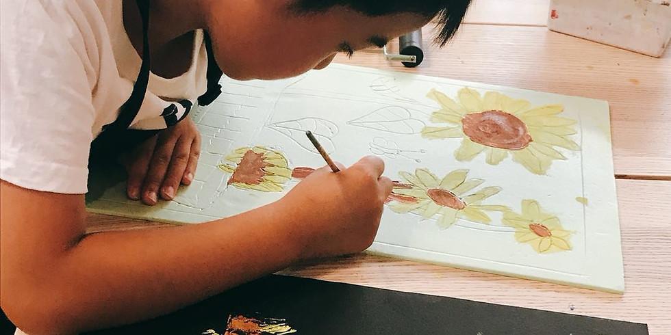 Kids Art Club-Print Making
